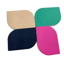 Private Label Green EVA Nail Shiner Block For Salon Disposable Nail Shiner