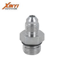Male Jic 74deg Cone/Male SAE O-Ring Hydraulic Adapter