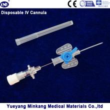 Cápsula intravenosa desechable IV de la cánula IV / catéter IV 22g de la mariposa