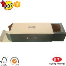 Gafas de sol del cajón del papel de Kraft que empaquetan la caja de regalo