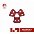 Wenzhou BAODI Пневматическая блокировка быстрого отключения BDS-Q8601 Красный цвет