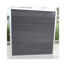 Eco Friendly Wood Plastic Composite Fence WPC Fence Manufacturer