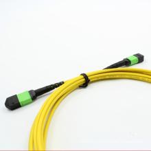 Cordon de raccordement fibre optique MPO / APC to MPO / APC