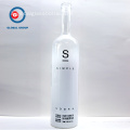 Serigrafia vuota 750ml Vodka Glass Bottle