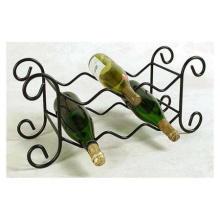 6 Bottle Wrought Iron Wine Rack