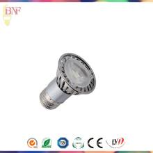 Projecteur blanc de la puissance élevée LED de JDR E27 avec 3W / 5W