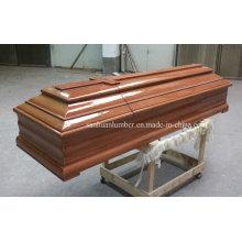 Деревянный гроб для похоронных изделий (PT-002)