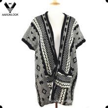Women Fashion Winter Knitted Sweater Shawl