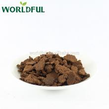 Camelia seed cake for aquaculture, High oil content, Tea seed cake