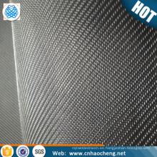 "Malla holandesa de 2 micras Malla 325x2300 de malla de acero inoxidable 316L. Paño filtrante micrónico de diámetro de alambre de 0014 ""x.001"""