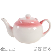 Hand Painting Natural Color Simple Teapot