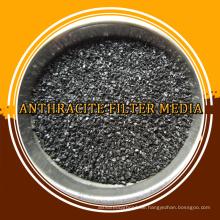 Hochwertige Anthrazit-Filtermedien für Abwasser