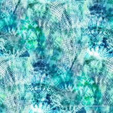 Nylon Spandex Swimwear tecido de nylon para o desgaste dos esportes (ASQ068)