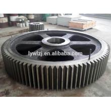 Engranaje de rueda de acero del bastidor del OEM con buena calidad
