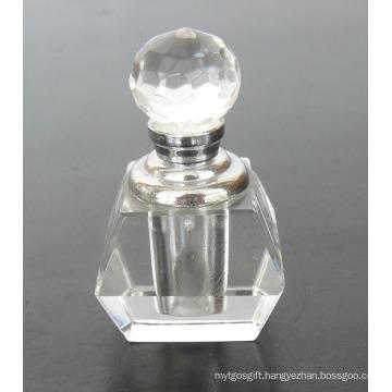 Clear Body Crystal Glass Perfume Bottle (JD-XSP-505)