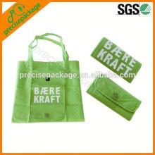 Heißeste aufbereitete Eco faltbare Tasche, gefaltete Tasche