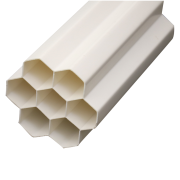 25mm electric cable white color pvc electrical protect plastic pipe list tubes