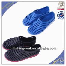 Sapatas de jardinagem coloridas de EVA da sapata da pesca dos homens do OEM da forma de FSFS001