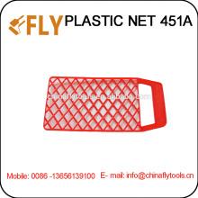 Red plástica roja