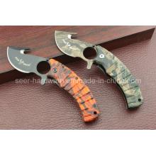 Cuchillo de recubrimiento de Camo (SE-402)
