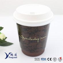 Coupe de papier à café isolée à double paroi