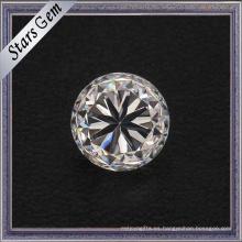 Zirconia cúbica cortada talla pequeña de la talla 1.75mm de la estrella