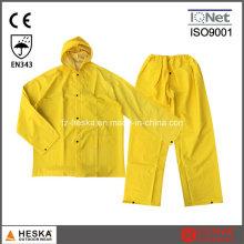 Best Selling 0.28m Polyester PVC Rain Suit