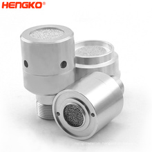 Sintered Porous SS316L Stainless Steel Industrial Methane Gas Detected Sensor Protective Enclosure