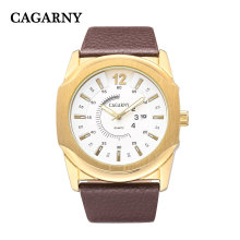 ИС позолоченные мужские большие часы