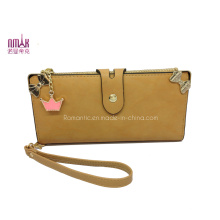 Fake Suede Purse with Lovely Pendant (NMDK-W015)