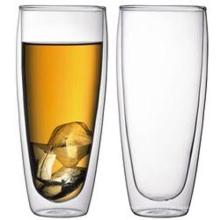 Large Capacity Double Wall Beer Glass Mug