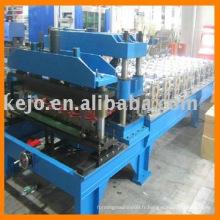 Carrelage en acier et machine de formage de rouleaux de pressage