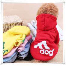 Großhandelshundekleidung, heiße Verkaufshaustier-Winter Hoodieskleidung, Haustierhundekleidung