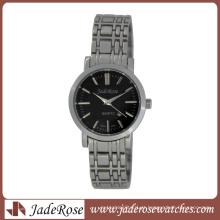 Relógio de senhoras de quartzo de aço inoxidável sólido
