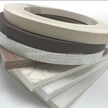 Faixa de borda de PVC de 0,4 * 22 mm para móveis domésticos