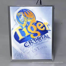 Beer Brand Indoor Smart Display Advertising Tool Dynamic Flashing Effect LED Motional Light Box