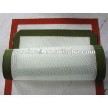 Feuille de cuisson en silicone Feuille de cuisson en fibre de verre en silicone