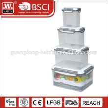 Four sides lock Food Container (4pcs)