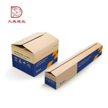Boa qualidade especial personalizado cor personalizada papelão ondulado caixa de papelão