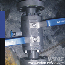 Double Block and Bleed Flanged Ending Ball Valve (Q41F)