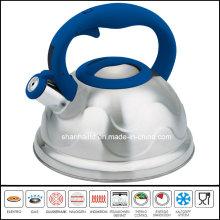 Nylon Handle Flower Pattern Water Kettle Cookware