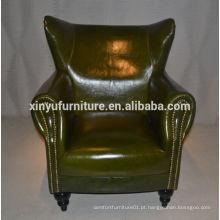 Sofá moderno em couro com estilo em estilo da Itália XYN2692