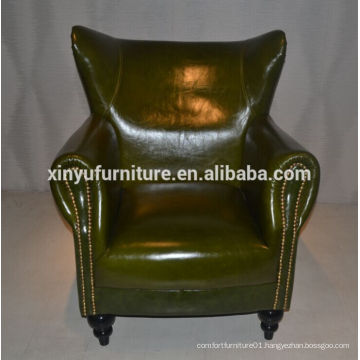 modern italy style leather lounge sofa XYN2692