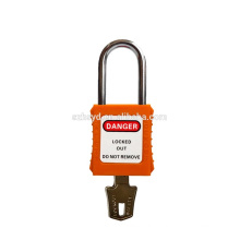 best sales approve CE certification 304 stainless steel shackle safety padlock