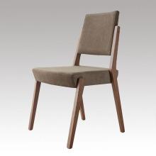 Chaise à manger en tissu solide en bois avec design célèbre
