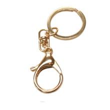 Dongguan Facory Fashion Accesorio Rose Gold Metal llavero gancho