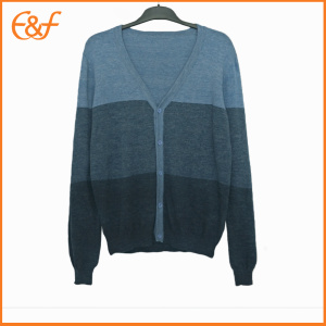 Male Cotton Cardigan Mens Lightweight Sweaters For Spring
