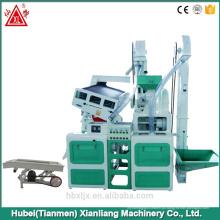 Máquina do moinho de arroz CTNM15, Mini Mini Máquina de Moagem de Arroz Farinha / Arroz Combinado Automático