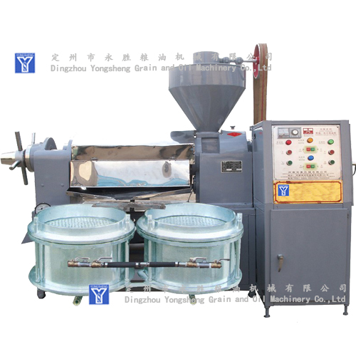 High Oil Output Rate oil press