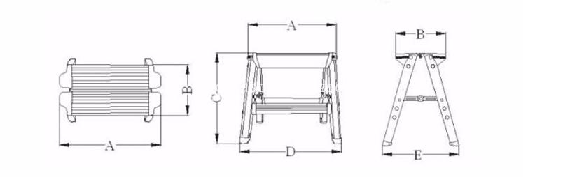 2 step stool